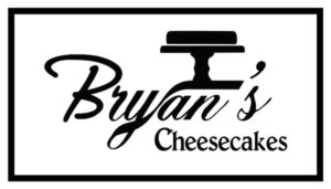 bryan's cheesecake logo white