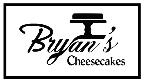 Bryan's cheesecakes logo white
