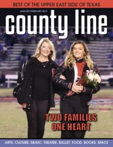 East Texas County Line Magazine January February 2019 cover