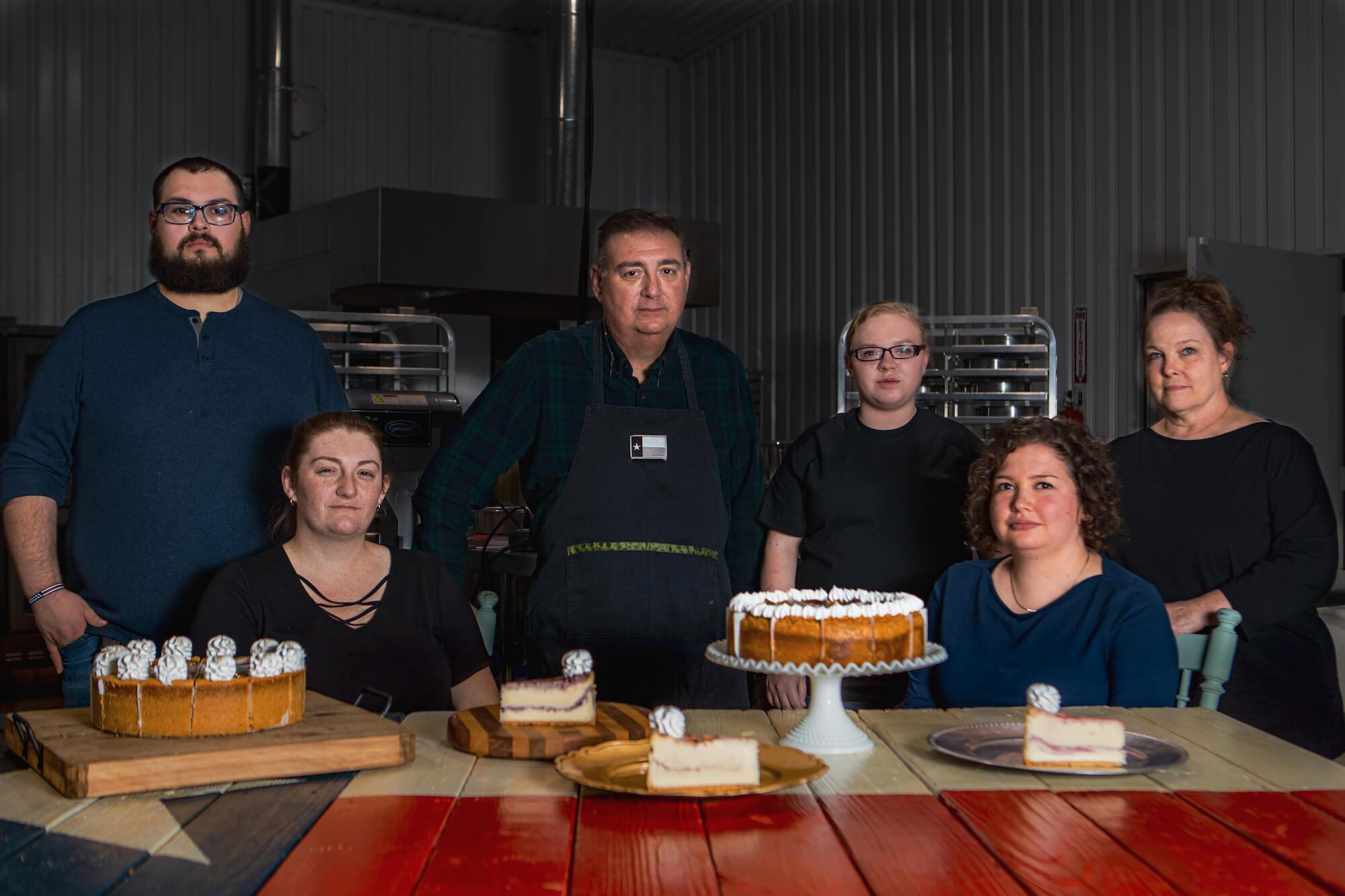 Bryan's Cheesecakes Team Photo